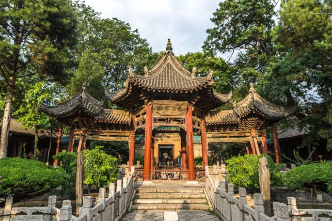 Great-a-mosque-in-Xian-City-in-China